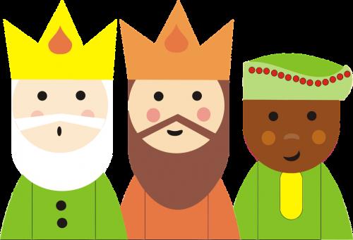 My tři králové...