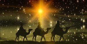 Tři králové na cestě z východu do Betléma